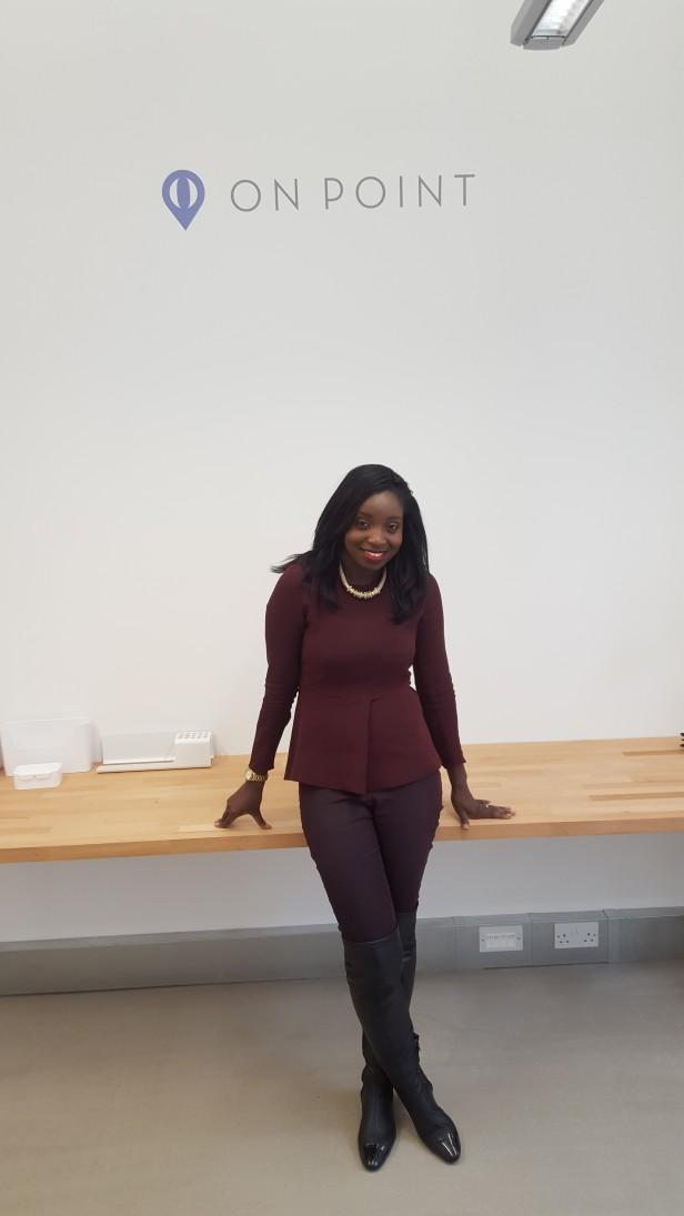 office pose
