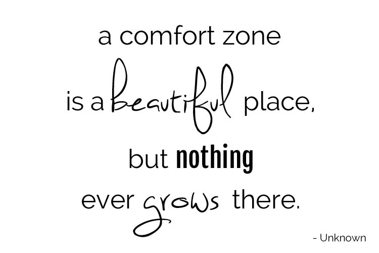 Comfort Zone Quotes A Comfort Zone Is A Beautiful Place But N