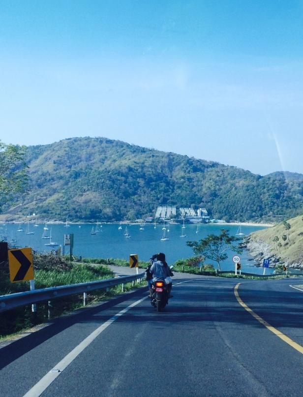 Phuket roads